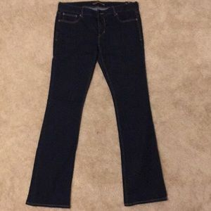 Express Women's Jeans 12L Barely Boot Low Rise
